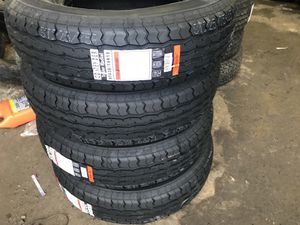 4 New Contender Trailer Radial Tires ST225/75R15. for Sale in Eugene, OR