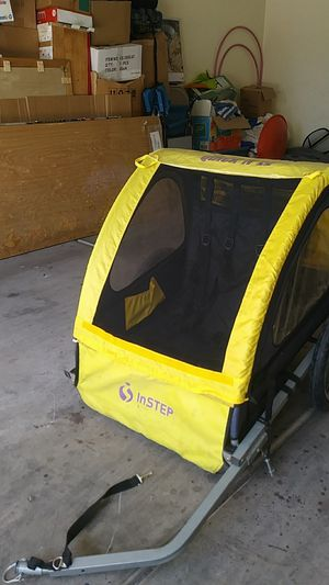 Quick and EZ BY Instep. Child bike trailer for Sale in Las Vegas, NV