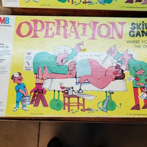 Lot Of 4 Vintage Board Games 2 Simon Memory Games And 2 Operations for Sale in Rancho Cucamonga, CA