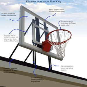 ProDunk King Roof Basketball 🏀 Hoop for Sale in San Antonio, TX