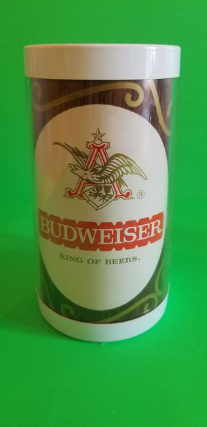 BUDWEISER Vintage THERMO-SERV Insulated Plastic Beer Mug / Cup ~ Anheuser Busch for Sale in Milton, PA
