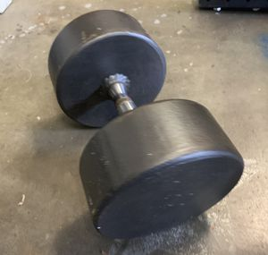 Weight 100lb Heavy Dumbbell for Sale in Clackamas, OR