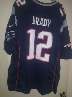 Tom Brady Patriots Jersey size 2xl for Sale in Glendale, AZ