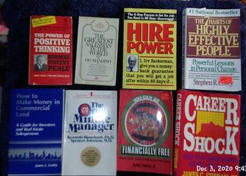 Stack of self help/finances books for Sale in Yakima,  WA