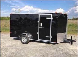 New 6x12 V-Nose Enclosed Cargo Trailers for Sale in LaFayette, GA