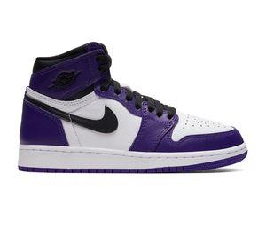 Jordan 1 Court Purple Gs for Sale in Mount Vernon, WA