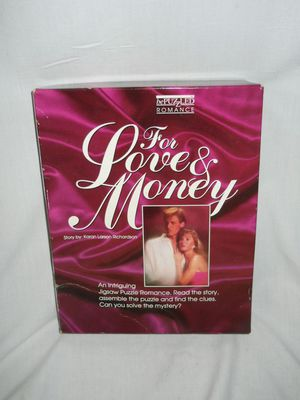 Romance Mystery Jigsaw Puzzle Game for Sale in Roseville, MI