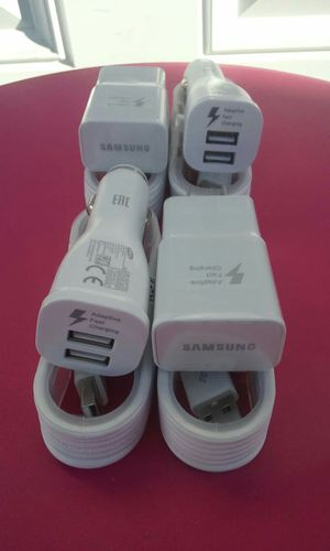 2 Samsung Fast Combos/2 Samsung Fast Chargers and 2 Samsung Fast Car Chargers Brand New for Sale in National City, CA