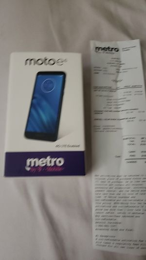 Motoe6 for Sale in Auburn, CA