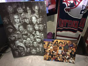 Hip hop pictures for Sale in Greenville, SC