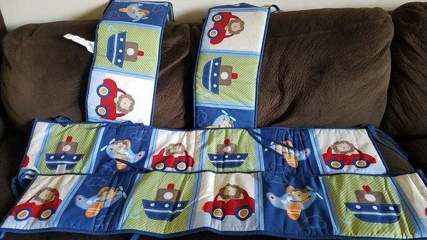 Baby boy crib set