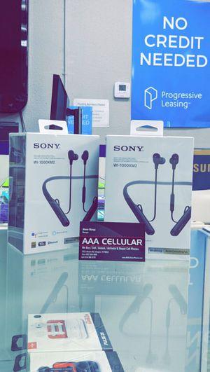 Sony - WI-1000XM2 Wireless Noise-Canceling In-Ear Headphones! Brand New in Box for Sale in Arlington, TX