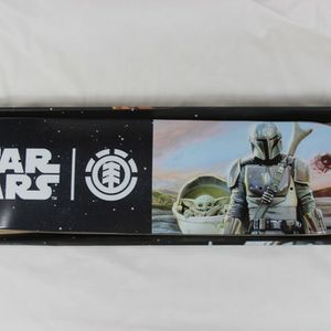 "Never opened Element x Star Wars Mandalorian Hunter & Prey 8.0"" Skateboard deck (Pictures are of second open board) for Sale in Houston, TX"