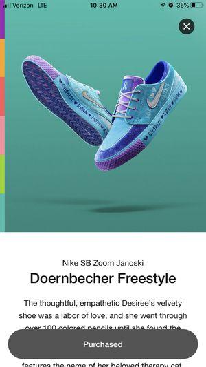 Nike SB zoom doernbecher for Sale in Chicago, IL