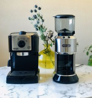 Espresso maker & espresso grinder - Delonghi for Sale in Long Beach, CA