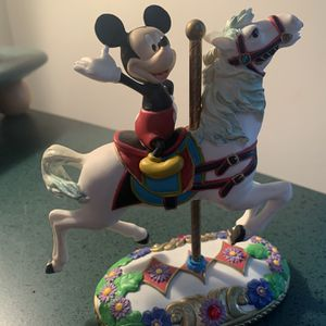 Mickey Mouse On Horse Carousel Figurine for Sale in Burr Ridge, IL