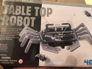 New in box sealed table top robot for Sale in Houston, TX