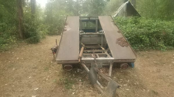 78 f350 ramp truck no engine 750$ OBO