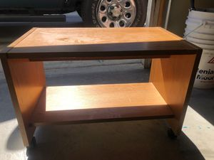 Small rolling table for Sale in Bakersfield, CA