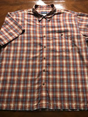 Vintage Patagonia Plaid Button Up Shirt Size L for Sale in Glendale, AZ