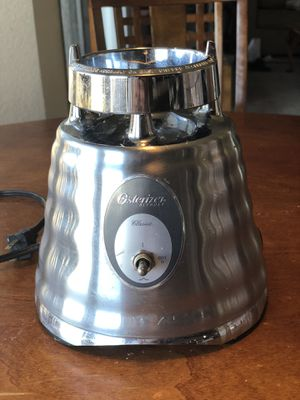Osterizer Blender. Base Only. No glass pitcher. Brand New. Pitcher broke and I bought a new one. for Sale in Pinole, CA