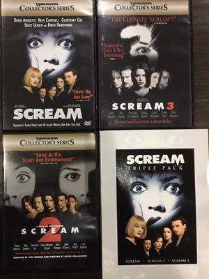 Scream Movies, Horror Movies, Scary Movies for Sale in Buena Park, CA