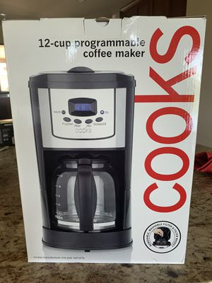 12 cups Programable coffee maker for Sale in Austin, TX