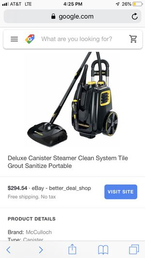 Steam cleaner for Sale in Seguin, TX