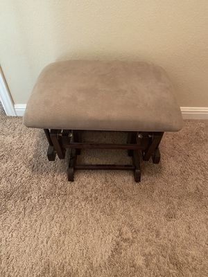 Brand new rocker / glider footstool for nursery (chair not included) for Sale in Georgetown, TX