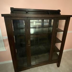 "Antique China Hutch 48"" X 63"" - 16"" deep for Sale in Lutz, FL"