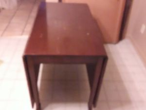 Rare 8 leg antique dbl drop leaf table for Sale in Thomasville, NC