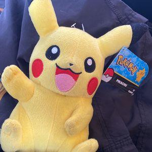 Pokémon Pikachu Plush Doll for Sale in Cerritos, CA