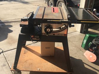 Craftsman Table Saw for Sale in Modesto, CA