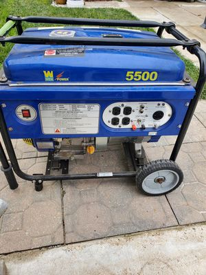 WEN generator 5500 watts for Sale in Chicago, IL