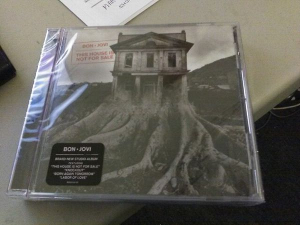 Two new bon Jovi this house is not for sale brand new cd