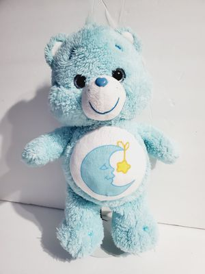 "Care Bears Plush Bedtime Bear 12"" Stuffed Animal 2002 Blue Moon Gold Star Toy for Sale in Queens, NY"