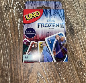 Frozen UNO cards for Sale in Willow Spring, NC