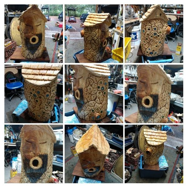 Custom bird house,porch swing