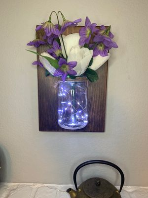 Our wall mason jar vase we are on {contact info removed} for Sale in San Jose, CA