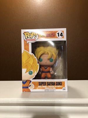 Super Saiyan Goku Funko POP for Sale in Fort Worth, TX
