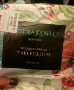 """Round tablecloth 70"""", fcfs, poos for Sale in Battle Creek, MI"""