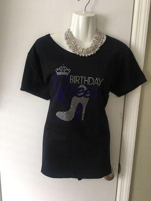 Birthday Queen bling T-shirt for Sale in Birmingham, AL