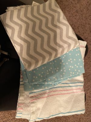Baby blankets plus diaper holder for Sale in Hockley, TX