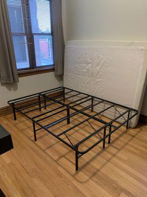 Metal Platform Bedframe for Sale in Chicago, IL