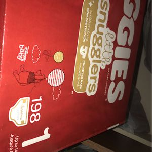 Huge Unopened Box of Huggies Size 1 diapers for Sale in Laurel, MD