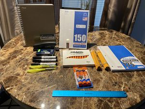 New assorted school supplies 24 pencils everything 1 dollar for Sale in Orlando, FL