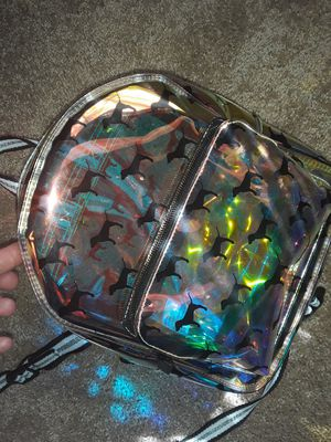 PINK Holographic mini backpack for Sale in Deltona, FL