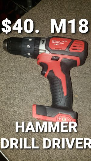 Milwaukee hammer drill for Sale in Fontana, CA
