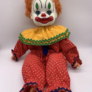 Vintage 1981 Gatabox Clown doll for Sale in Des Plaines, IL