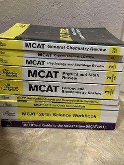 MCAT Review Book Set for Sale in Chula Vista,  CA